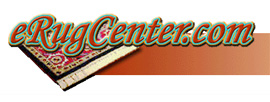 Logo design for eRugCenter.com utilizing Photoshop and CorelDraw